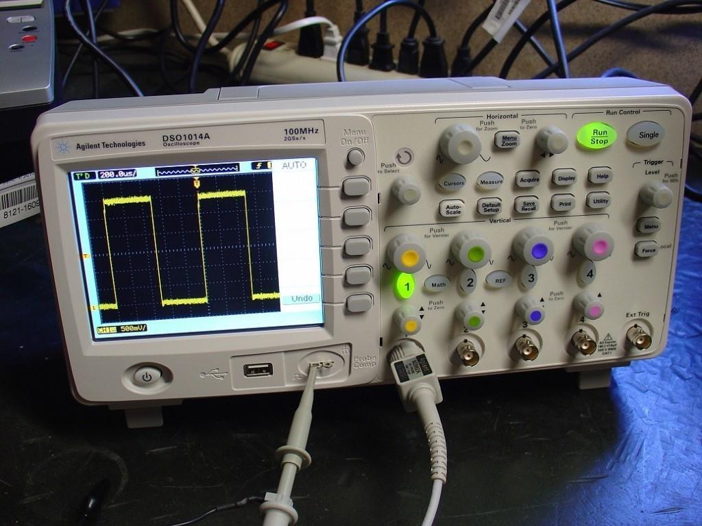 Oscilloskop måleinstrument